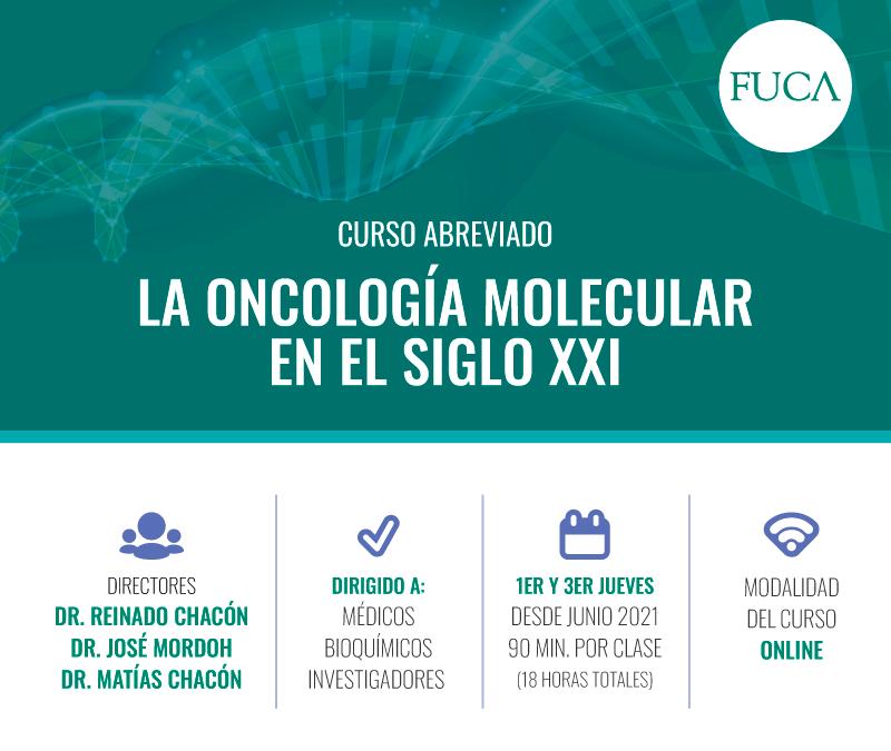Curso La Oncología Molecular en el Siglo XXI